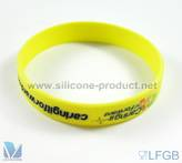 SILICONE WRISTBANDS SILICONE BRACELETS