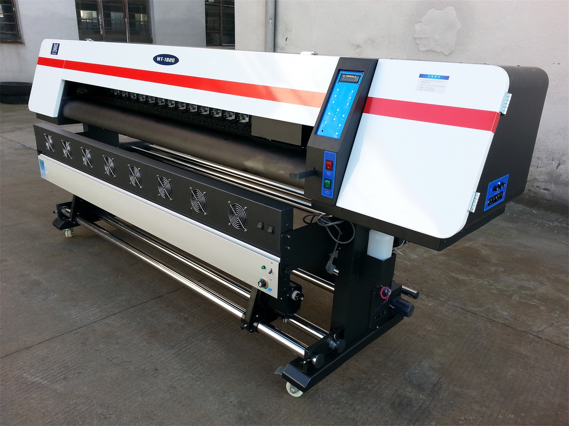 70sqm/h High Speed Large Format Indoor Photo Printing Machine Sublimation Printer with Epson 5113 he