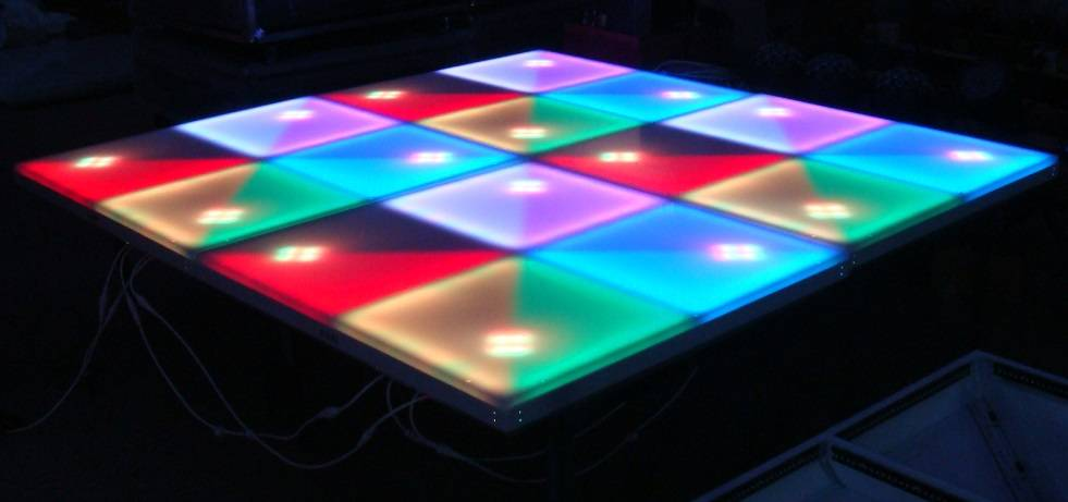 7c-LDF01  LED RGB Dance Floor