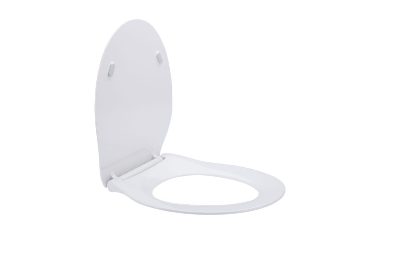 Slim UF toilet seat cover
