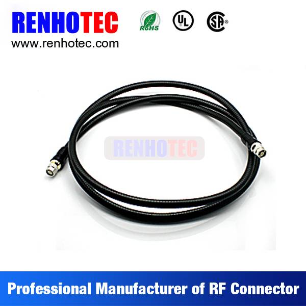 N Type to N Plug Coaxial Wire Connectors Custom Cable Assembly