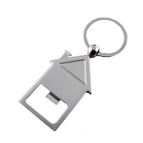 Promo House Shape Keychain Bottle Opener