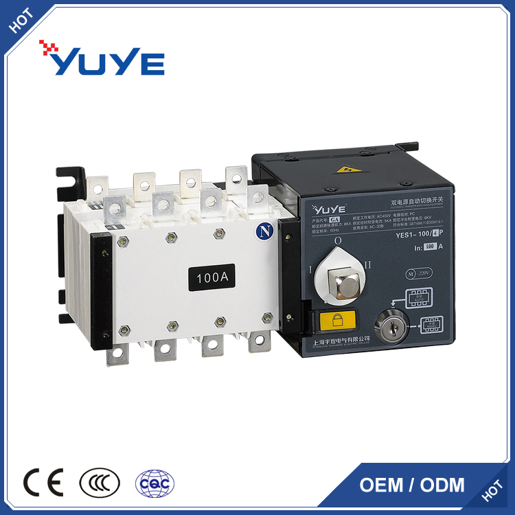 CE certificate 3p 16A to 3200A changeover switch/ATS for generator