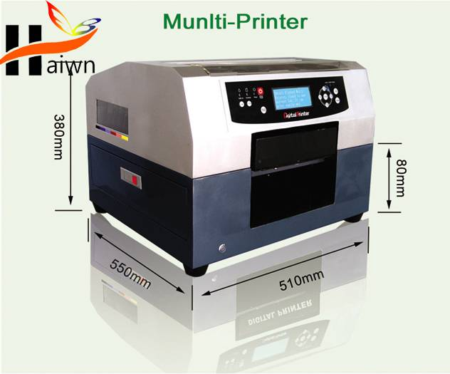 2014 High top quality DTG printer with T-shirt plate in good condition