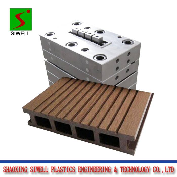 WPC decking extrusion mould die tool