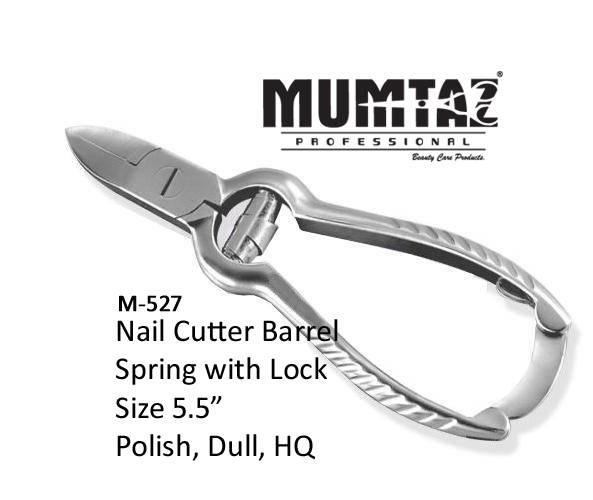 Toe Nail Cutter Barrel Spring with lock
