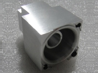 CNC turned Aluminum parts