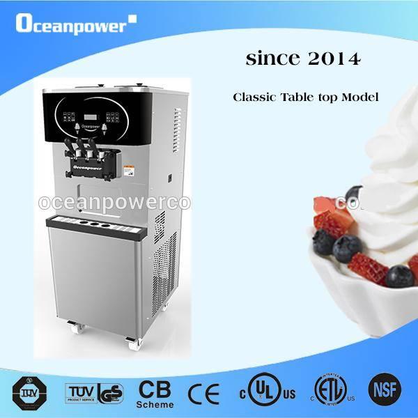 [Flagship Model]DW165THC Soft Ice Cream/Frozen Yogurt Machine.[Pasteurizer,Magnetic Stirrer all in o