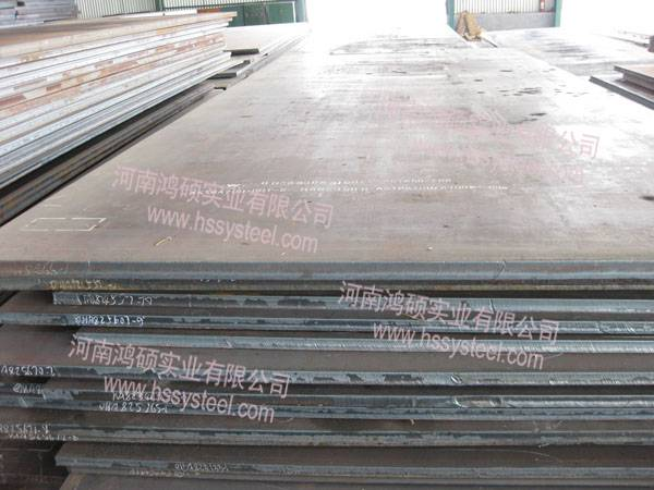 Anti-corrosive steel plate