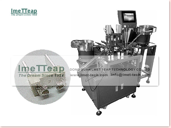 2-Pin Electric Plug Assembly Machine