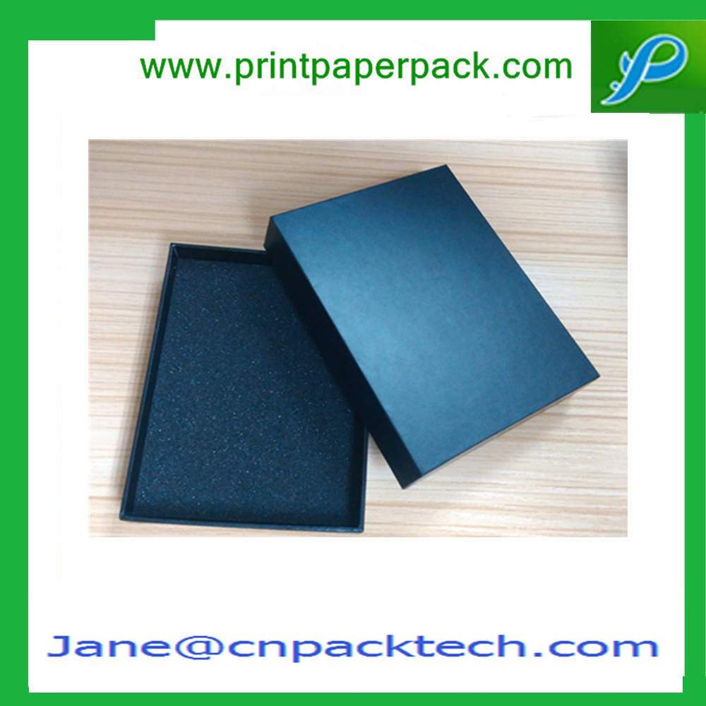 Decorative Fancy Top and Bottom Boxes Jewelry Box CD/VCD Box OEM Paper Gift Packing Box