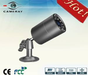 Dwdr 700tvl Low Lux Mini IR LED Weather Proof Camera 30X50mm (CM-SJU-L30R-P)