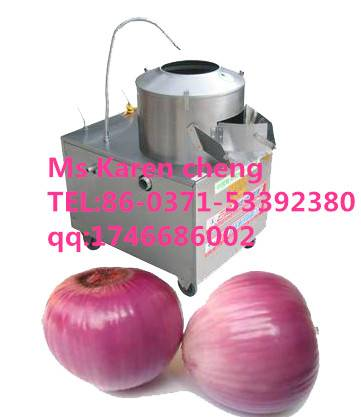 Autmatic fruit and vegetable washing and peeling machine