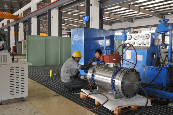 Ball Valve Test Bench