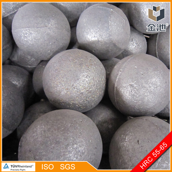 Middle chrome cast grinding balls