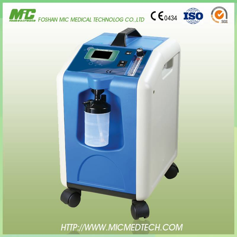 High quality hot-sale CE /FDA/ISO home oxygen therapy home oxygen concentrator