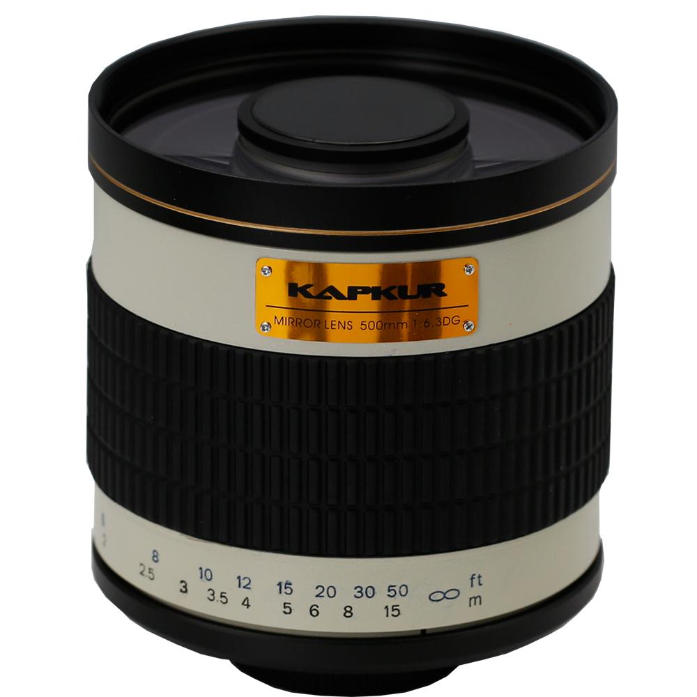 KAPKUR 500mm F6.3 Mirror Lenses for APS-C Style Digital SLR Cameras for Canon