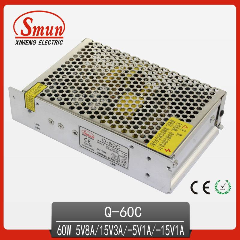 nonwaterproof quad output switching pwoer supply