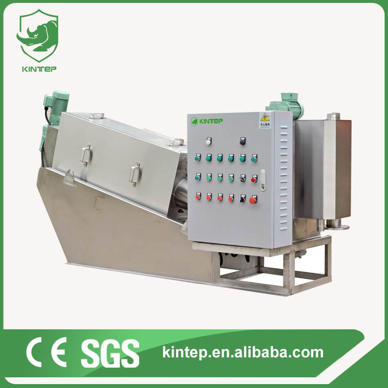 Screw Press Dewatering Machine for Sewage Treatment Plant