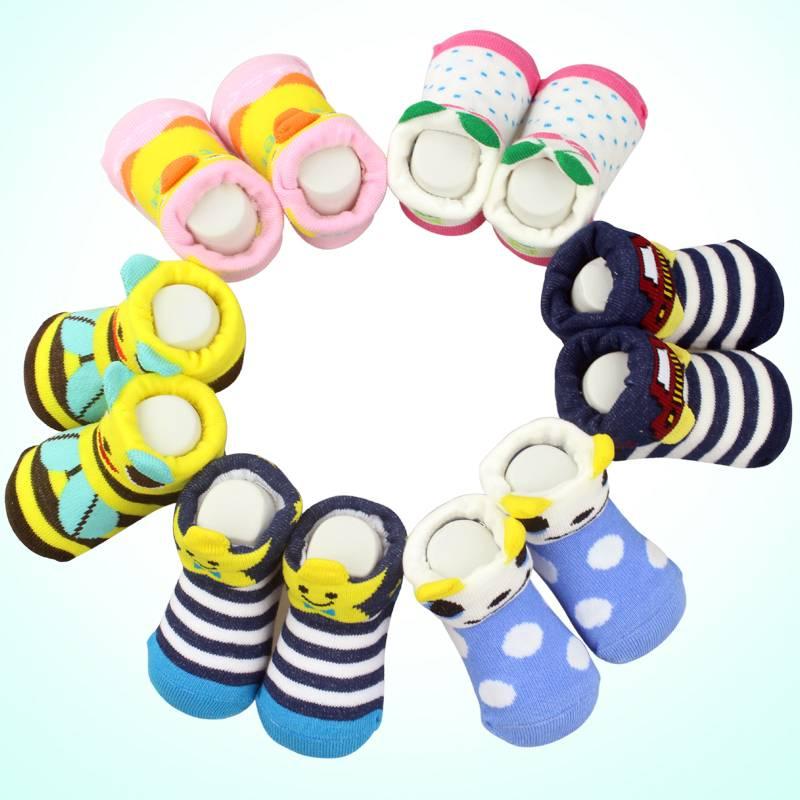 Cute Animal  Pattern Baby Floor Socks