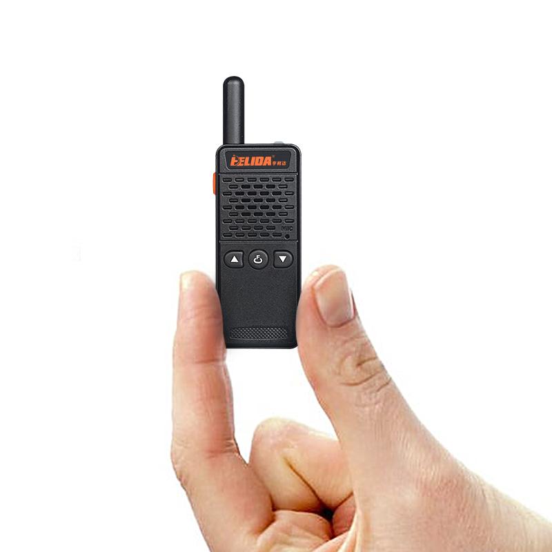 Mini FRS GMRS Two Way Radio HELIDA T-M2 2W UHF 400-520MHz Walkie Talkie for kids/Girl/Boy