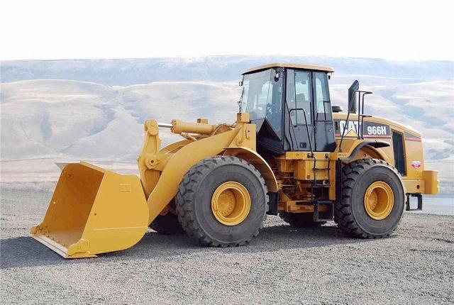 new unused CAT loader 966H i390001 EIJH lm40121
