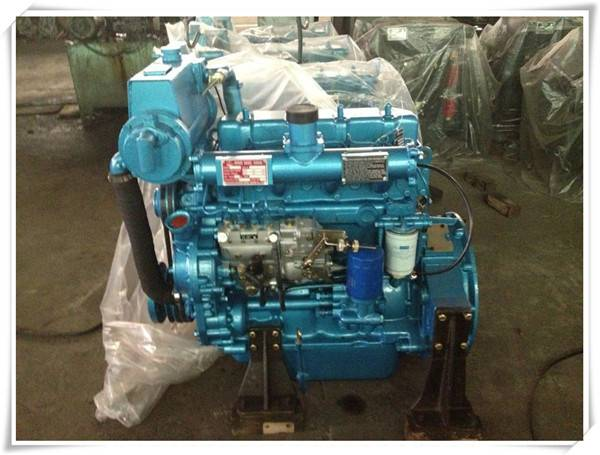 1500RPM 1800RPM R4105C R4105ZC Ricardo small marine diesel engines With gearbox