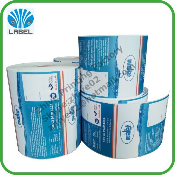 Direct manufacture customized waterproof printing adhesive label