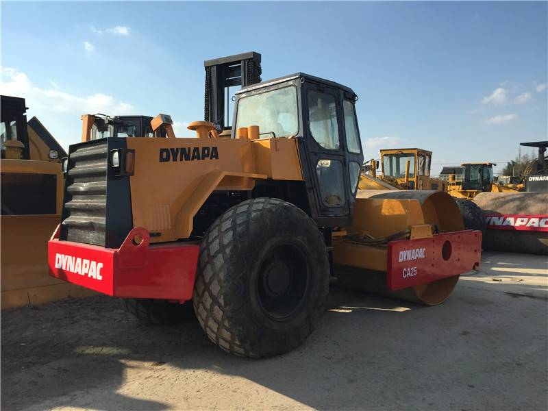 Used Dynapac Road Roller Ca25D(Dynapac Ca25D compactor?