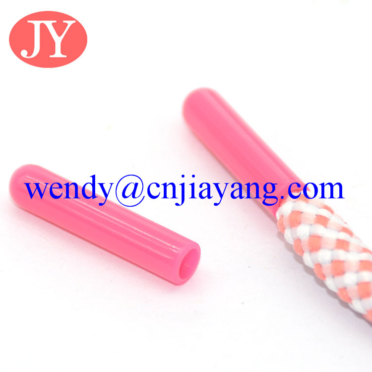 light weight high quality plastic TPU aglets for hoodies