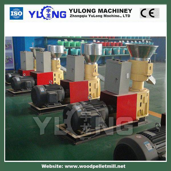 Lowest price flat die wood pellet mill / machine with best service