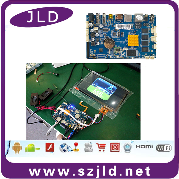 Factory supply high performance lcd lvds controller board for 15.6'' tft screen