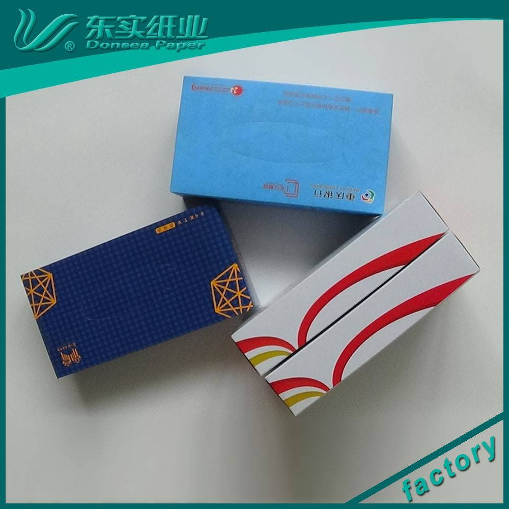 Promotional Cube Box Facial Tissue Paper wholesale