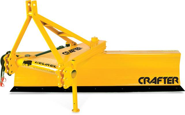 HYDRAULIC & TWO WAY LEVELLING BLADE / CRAFTER