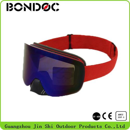 Big Lens Ski Goggles with Air Ventilation Holes