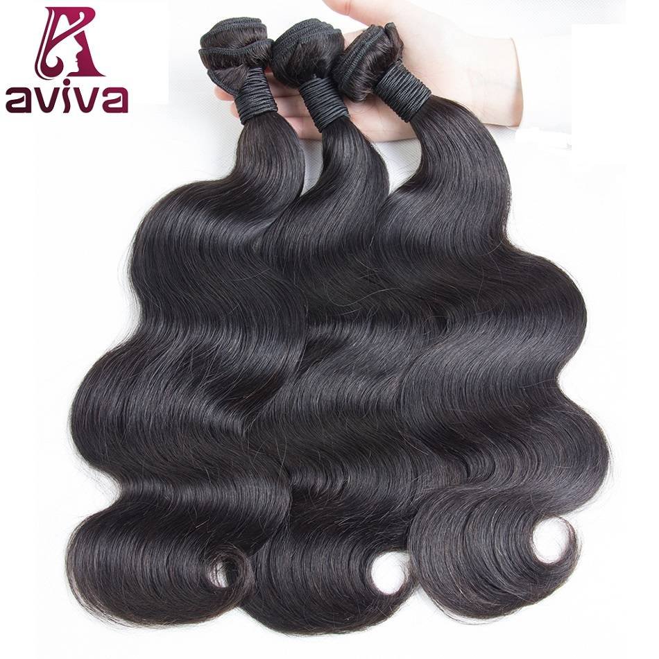 Body wave 100% Virgin Remy Human Hair Extensions