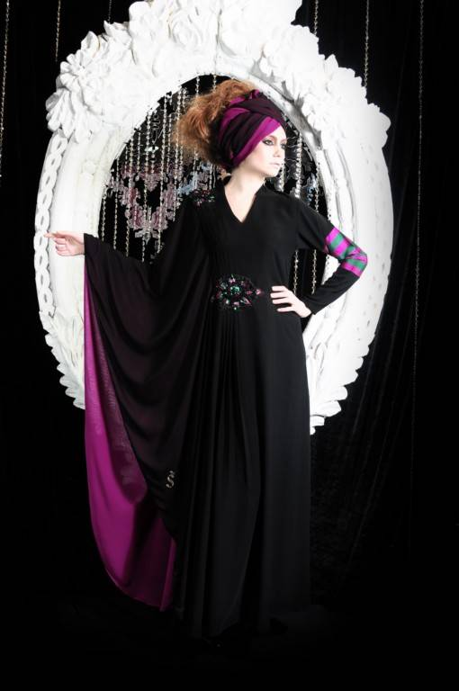 muslim black abaya kaftan for women