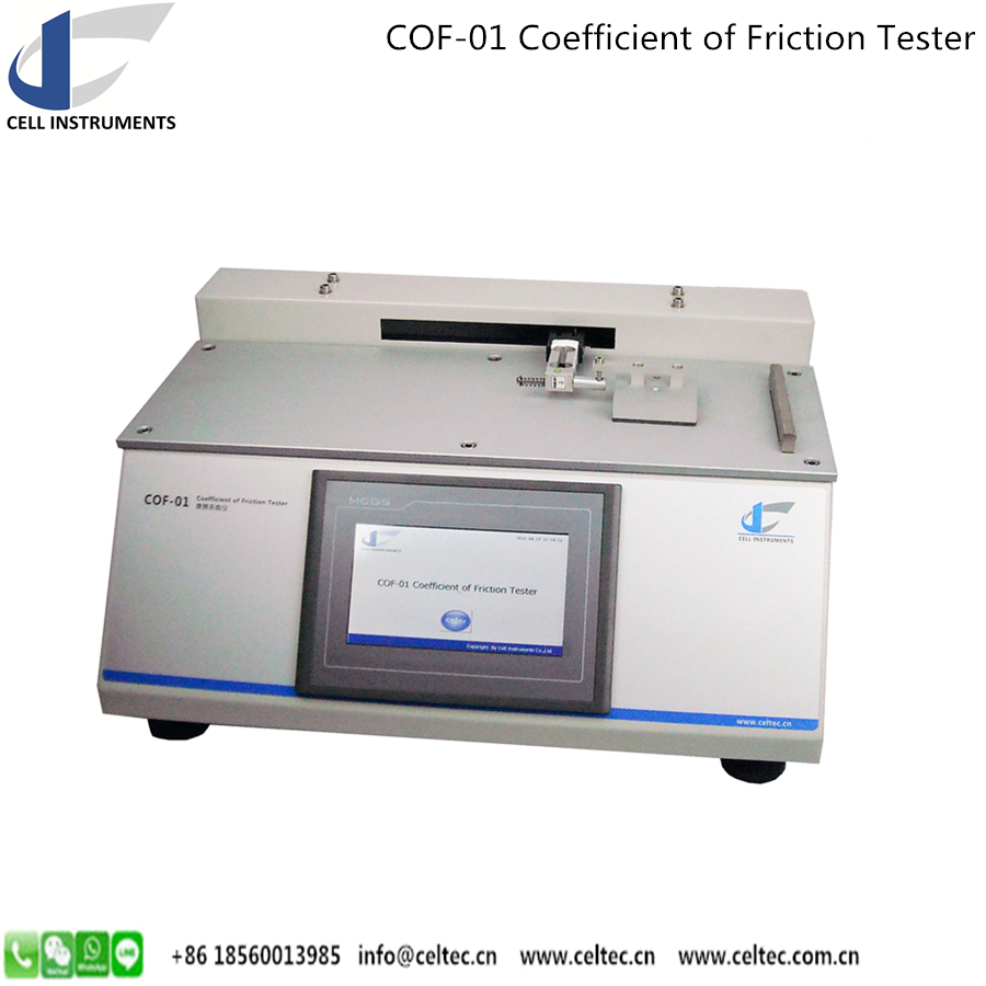 TAPPI T830 Paper and Film Coefficient of friction tester