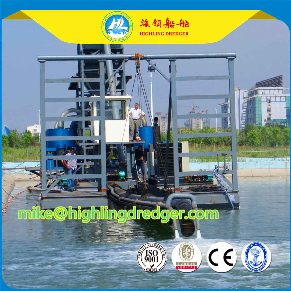 Highling HL-J400 jet suction dredger with dredging depth15m in Nigeria cheap price, hot sale