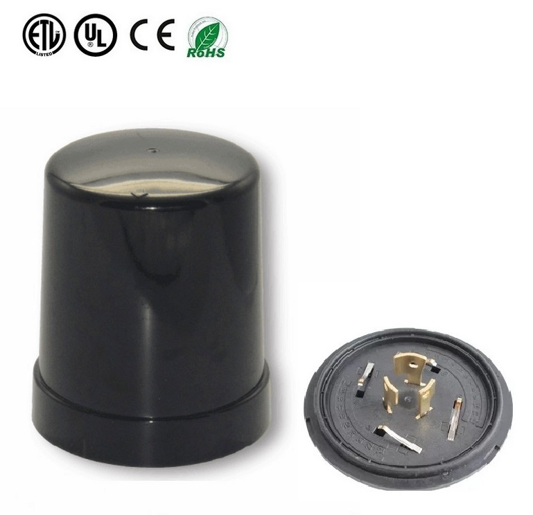 Grey Color Housing Top Cover Photoelectric Switch Lighting Control System