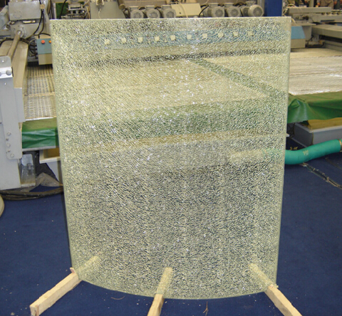 SAOSA UV cured resin for Ice crackle glass lamination