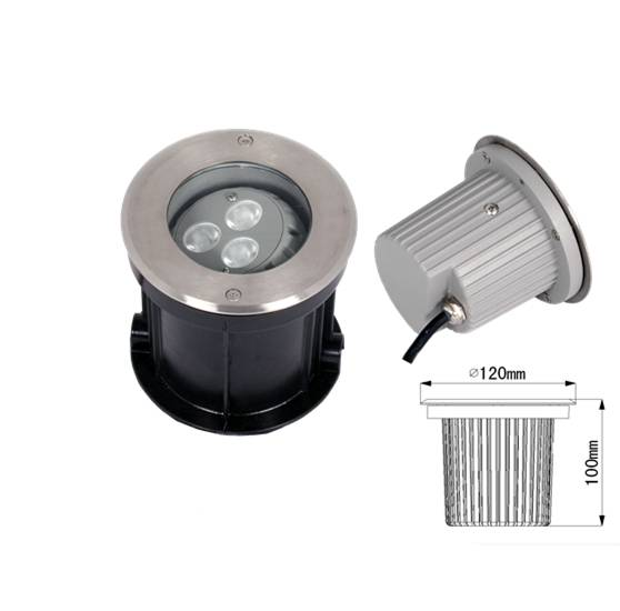 high power led underground light 220V 9W