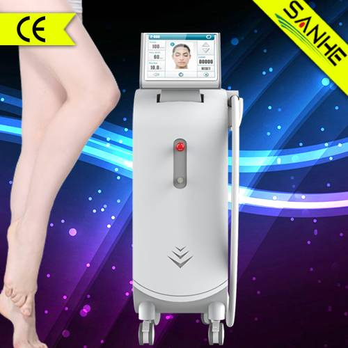 2000W strong Power!!! 808nm diode laser hair removal machine with CE approved / sanhe 808 diode lase