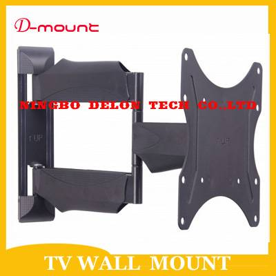 "10-37"" tv 180 adjustable swivel tv wall mount bracket holder"
