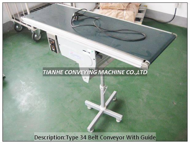 type34 type60 belt Conveyor With Guide