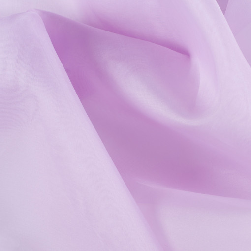 Lavender Silk Organza