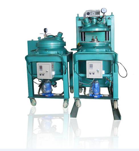VOL-100L 12kv-24kv embedded pole of vacuum circuit breaker machineautomtic apg clamping machine