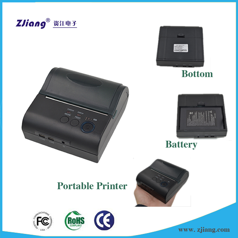 3 inch Bluetooth Thermal Printer for parking citations ticket printiing