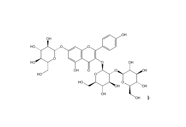 TCM reference standards Kaempferol 3-sophoroside-7-glucoside
