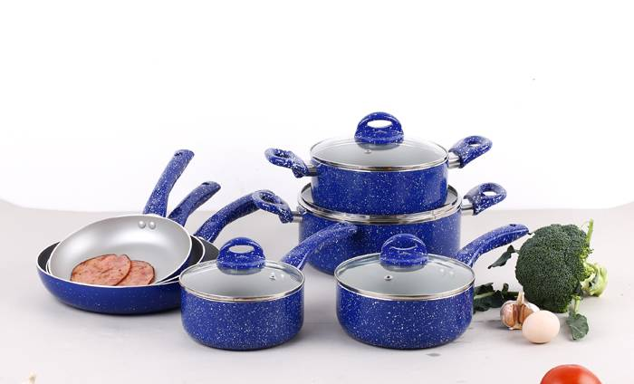 Non-stick coating cookware for cooking ZH-11PCS-SS01